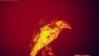 getlinkyoutube.com-Photoshop Tutorial - Fire Crow