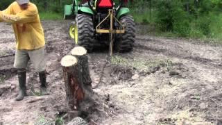getlinkyoutube.com-John Deere Tractor Tree Take Down