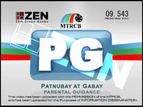 MTRCB TV Rating Classification: Rated PG