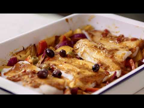 M&S | Cook With... Moroccan Baked Cod