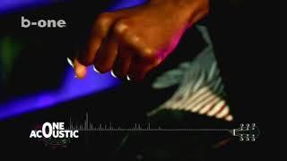 Teddy Diso chante en Accoutique sur B-One télévision