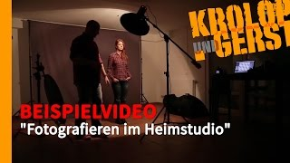 "getlinkyoutube.com-[K&G] VIDEOTRAINING // Sample - ""Fotografieren im Heimstudio"""