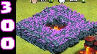 getlinkyoutube.com-Clash of clans - 299 P.E.K.K.A  Mass attack! ( ipad gameplay )