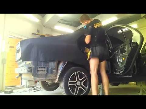 Mercedes Benz w203 в Алмазной крошке