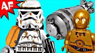getlinkyoutube.com-DROID ESCAPE Lego Star Wars Set 9490 Animated Review