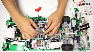 LEGO Technic 42039 RC Motorized race car Instruction video by 뿡대디