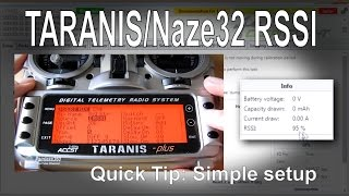 getlinkyoutube.com-FrSky TARANIS/Naze32/Cleanflight Quick Tip - Setting up RSSI for an OSD with D4R-II