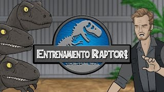 getlinkyoutube.com-Jurassic World - Entrenamiento Raptor!