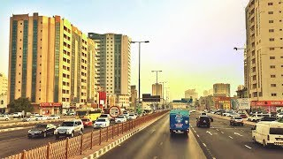 Dubai To Ajman By Bus || Scenes Of The UAE