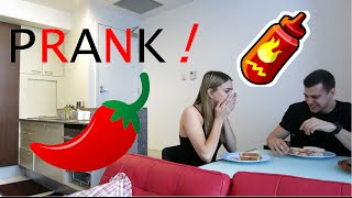 getlinkyoutube.com-EXTREME HOT SAUCE PRANK on GIRLFRIEND!