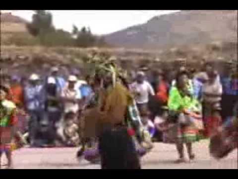 Danza Escolar de la Institución Educativa Secundaria a Distancia  - Chacolla - Chuschi