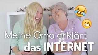 getlinkyoutube.com-Meine OMA ERKLÄRT das INTERNET :D | BibisBeautyPalace