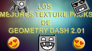 getlinkyoutube.com-Top 5 Textures Packs Para Geometry Dash 2.01
