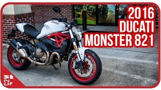 getlinkyoutube.com-2016 Ducati Monster 821 | First Ride