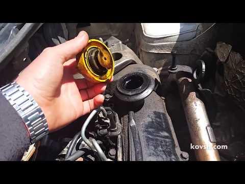 Как определить причину дымления и расхода масла. Renault Kangoo 1.5d  K9K710