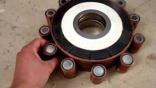 Searl effect generator replica 2010