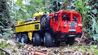 getlinkyoutube.com-MOC LEGO Technic MAN M1001 by MajklSpajkl