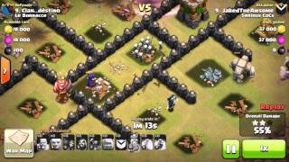 getlinkyoutube.com-HOW TO 3 STAR A MAX TOWNHALL 8 TH8 USING NON AIR TROOPS W. WAR REPLAYS!