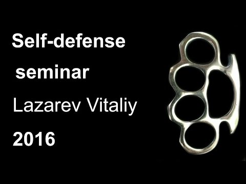 Demonstration 13: sensei Lazarev Vitaliy Aikido & Aikijujutsu Yoseikan Russia Sistema Samooborony