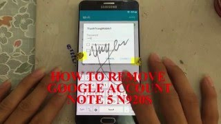 getlinkyoutube.com-HOW TO REMOVE FRP NOTE 5 N920 - BY PASS GOOGLE ACCOUNT NOTE 5 -XÓA TÀI KHOẢN GOOGLE NOTE 5