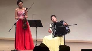getlinkyoutube.com-여자의 일생 / 아코디언 카리스마 / KIM  HEON HEE  &  바이올리니스트  황보배/울산 아코디언 오케스트라