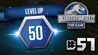 getlinkyoutube.com-LEVEL 50!! || Jurassic World - The Game - Ep 57 HD