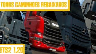 getlinkyoutube.com-Todos o Caminhões Rebaixados Ets2 1.20