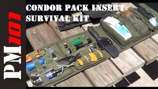 getlinkyoutube.com-How To Build A Survival Kit With A Condor VA7 Pack Insert  - Preparedmind101