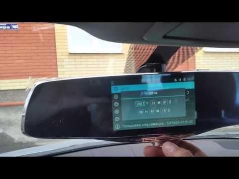 Lexus CT200H Зеркало видеорегистратор с камерой заднего вида и парковочными линиями 3 в 1
