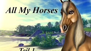 getlinkyoutube.com-Star Stable Online: All my Horses {Teil 1} [HD]