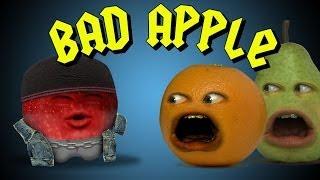 getlinkyoutube.com-Annoying Orange - Bad Apple (Ft. Mikey Bolts)