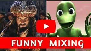 Khali bali ho gya he dil( Very Very funny mixing)|| Bollywood song|| width=