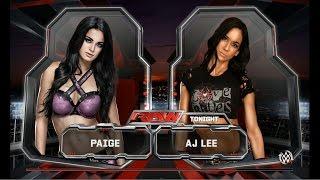 getlinkyoutube.com-WWE 2K15: Paige vs AJ