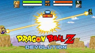 getlinkyoutube.com-Dragon Ball Z Devolution: The Cell Saga! (New Version 1.2.2)