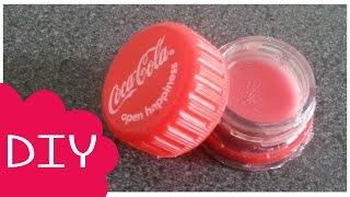getlinkyoutube.com-✿ DIY Coca Cola Baby Lips ~ Maak Je Eigen Lipbalsem en Container! ✿
