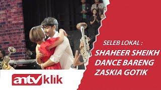 ROMANTIS! SHAHEER SHEIKH DAN ZASKIA GOTIK DANCE SEXY DI PESBUKERS
