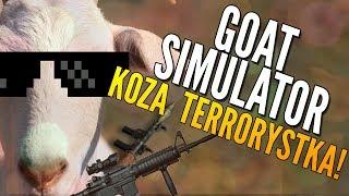 getlinkyoutube.com-KOZA TERRORYSTKA! - GOAT SIMULATOR [Kopiowanie PewDiePie]
