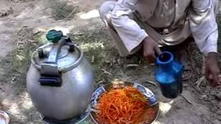 getlinkyoutube.com-Qabuli Palau, Afghan Dish, Food, Cooking in Afghanistan, Roadtrip