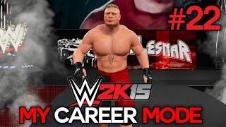 "getlinkyoutube.com-WWE 2K15 My Career Mode - Ep. 22 - ""BROCK LESNAR!"" [WWE MyCareer XBOX ONE / PS4 / NEXT GEN Part 22]"