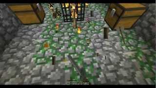 getlinkyoutube.com-Zaincraft: E03 Dungeon Raiders! (Minecraft 1.2 Lets Play)