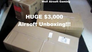 getlinkyoutube.com-HUGE $3000 Airsoft Unboxing!!! (KWA Vector, G&G, Condor, USP, HK, KRISS, and More!)