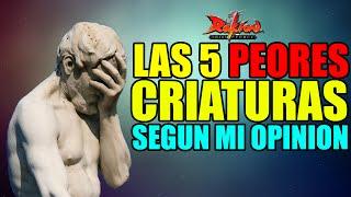 getlinkyoutube.com-Las 5 Criaturas Más Decepcionantes De Rakion | Según Mi Opinión