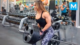 getlinkyoutube.com-BEAST in the Beauty - Cassandra Martin   Muscle Madness