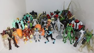 Minha Coleção de Bonecos do Ben 10 (Ben 10,Alien Force,Ultimate Alien,Omniverse) - Mathvlog
