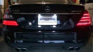 getlinkyoutube.com-How to Install Facelift LED Tail Lights 2010+ W221 Mercedes Benz AMG S65 S63 S550