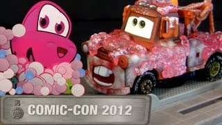 Cars 2 Mater in Japanese Bathroom Stall Comic-Con SDCC 2012 Chuki Anime Disney Pixar Mater in Japan