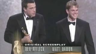 getlinkyoutube.com-Ben Affleck and Matt Damon Win Original Screenplay: 1997 Oscars