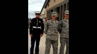getlinkyoutube.com-Marine surprises Airman girlfriend
