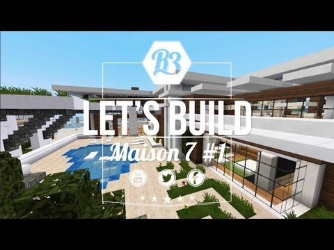 Minecraft Let's build - Maison Moderne 6 #1 - R3li3nt