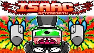 The Binding of Isaac AFTERBIRTH: TECH X + EPIC FETUS + MONSTRO'S LUNG